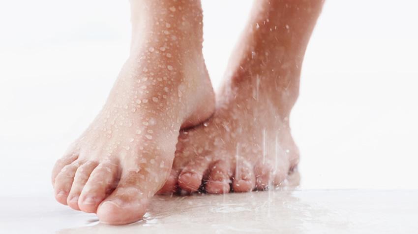 Risico kalknagel en voetschimmel