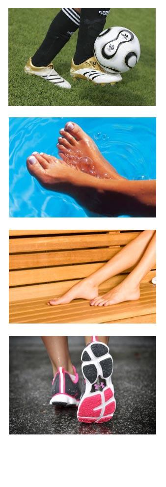 Pėdų grybelio požymiai